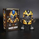 Интерактивная игрушка Танцующий робот Бамблби Dance Hero Bumblebee, фото 10
