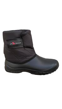 Непромокаемые дутики из пены эва 26,5 см Черные ботинки на флисе.