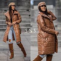"""Куртка-пальто жіноче демісезонне полубатальная, раз.48-54 (5ц)""""AFINA-2""""купити недорого від прямого постачальника"""