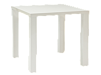 Стол обеденный Signal Montego 80х80 см Белый (MONTEGO3H1)