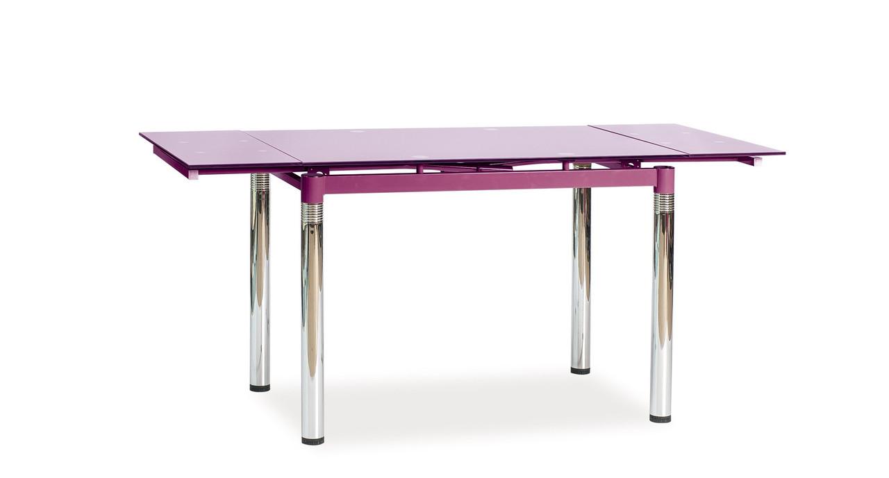 Стол обеденный Signal Мебель GD-018 110(170) х 74 см Фиолетовый (GD018F)