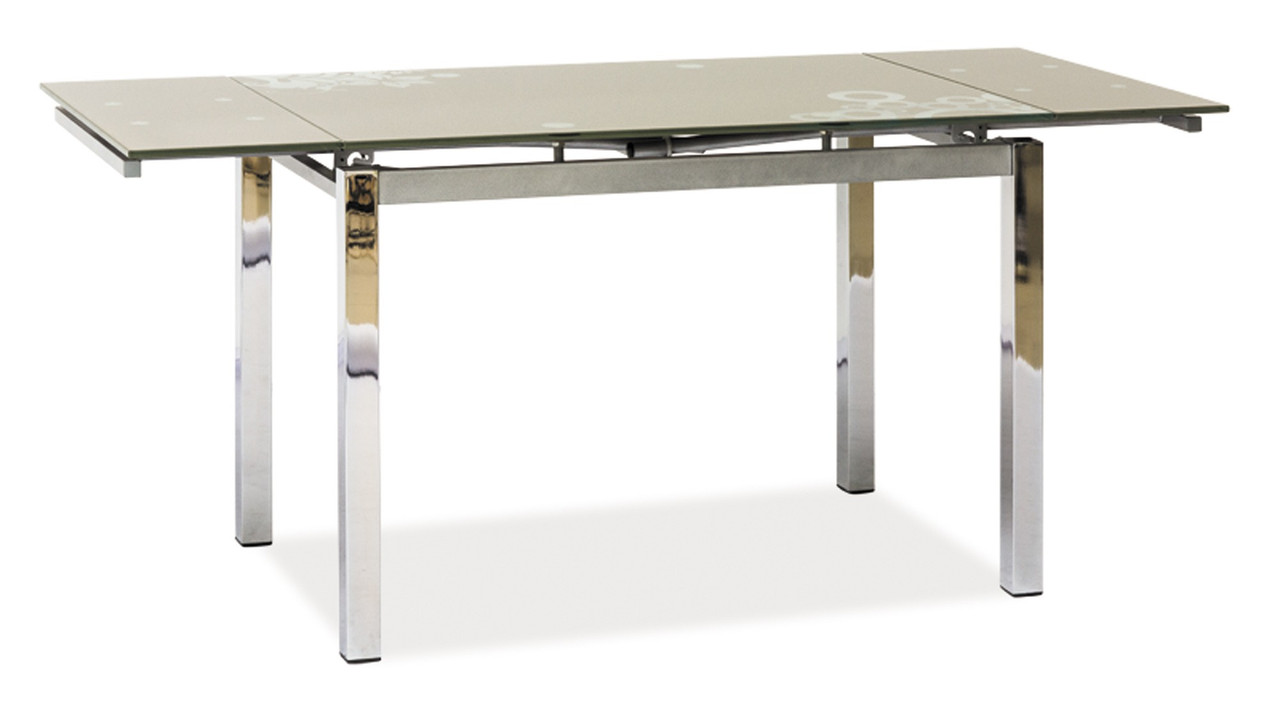 Стол обеденный Signal GD-017 110(170)х74 см Темно-бежевый (GD017CB)