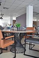 Стол обеденный Signal Orlando 137х137 см Орех (ORLANDOORC137), фото 1