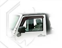 Дефлекторы окон Jeep Wrangler (JK) 2007   Ветровики Джип Вранглер