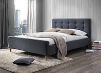 Двоспальне ліжко Signal Pinko 160X200 Сірий (PINKO160SZ)