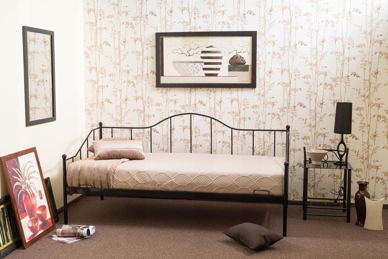 Односпальная кровать Signal Dover 90X200 см Черный (DOVER90C)