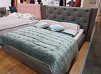 Двоспальне ліжко Signal Bugatti 160X200 Сірий (BUGATTI160SZD)