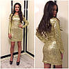 Золотое платье в паейтках, фото 2