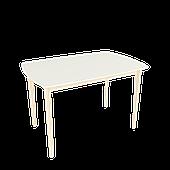 Стол обеденный Intarsio Exen 120х80 см Кремовый