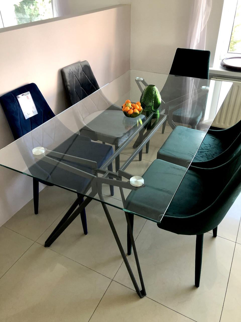 Стол обеденный Signal Tivoli 160х90 см Прозрачный (TIVOLITSZ160)