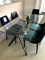 Стол обеденный Signal Tivoli 160х90 см Прозрачный (TIVOLITSZ160), фото 1