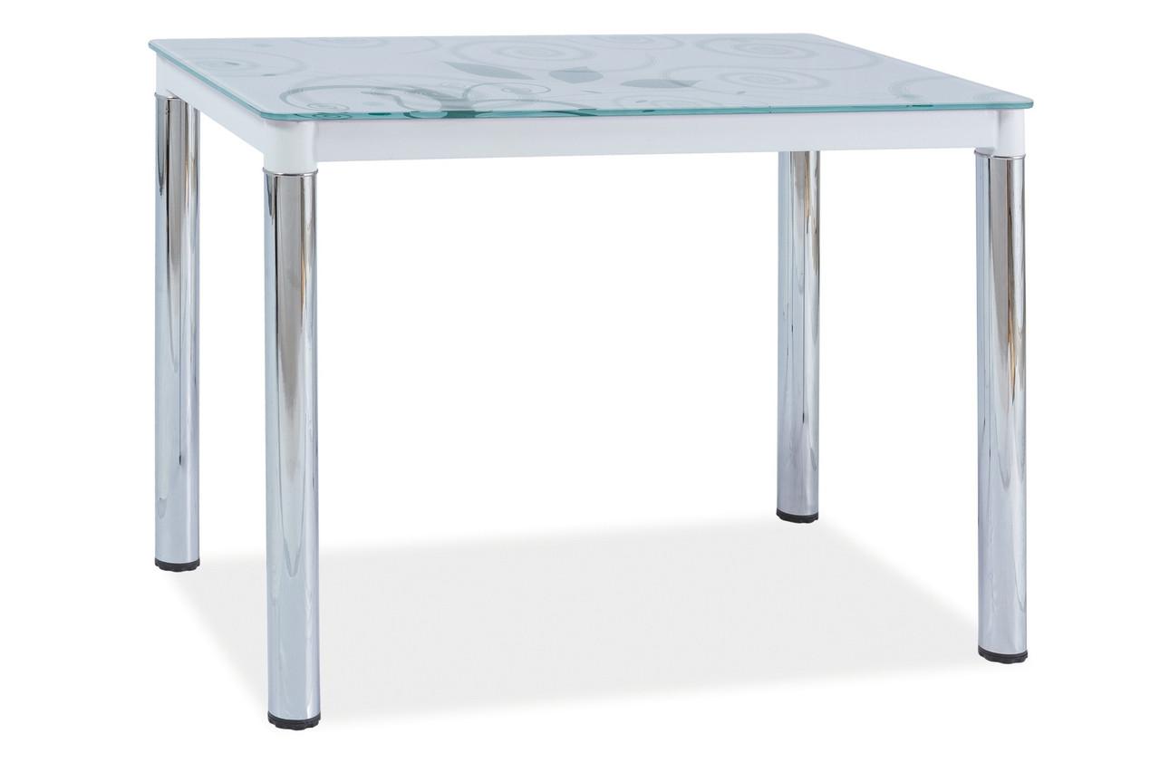 Стол обеденный Signal Мебель Damar ll 100 х 60 см Белый (DAMAR2BCH100)