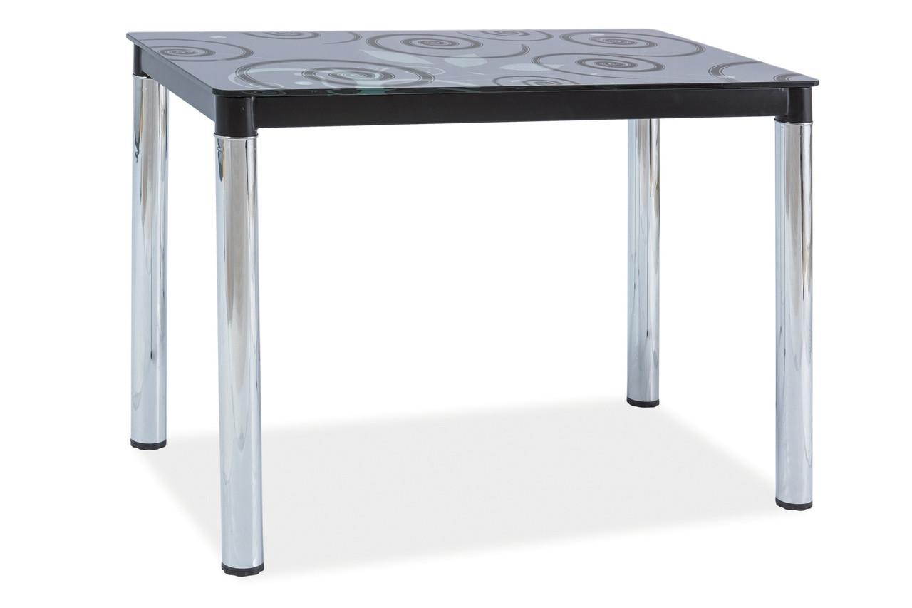 Стол обеденный Signal Мебель Damar ll 100 х 60 см Черный (DAMAR2CCH100)