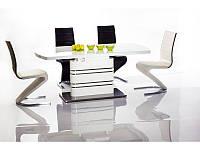Стіл обідній Signal Gucci 140(200)х85 см Білий (GUCCIBB140)