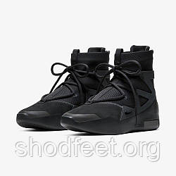 "Мужские кроссовки Nike Air Fear of God 1 ""Triple Black"""