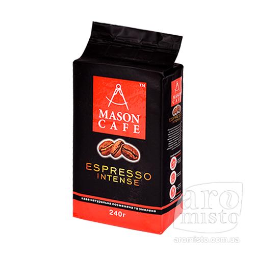 Кофе молотый Mason Espesso Intense 240 г.