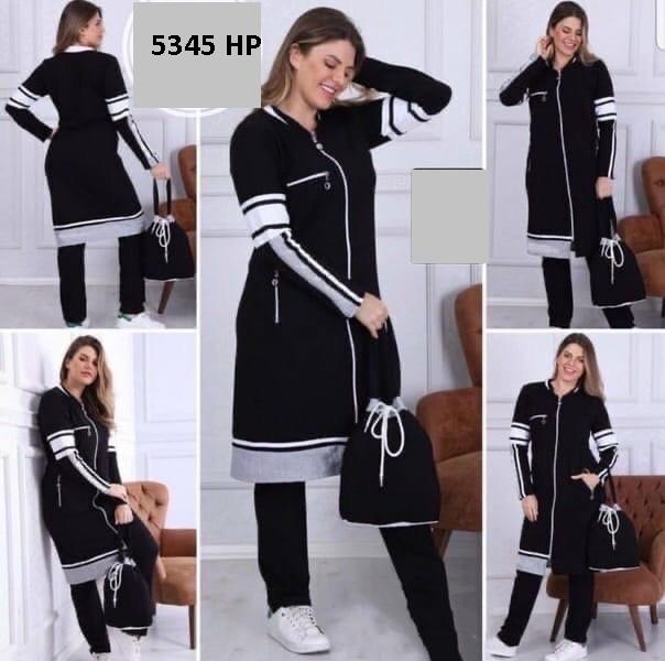 Стильный женский спортивный костюм 5345 НР