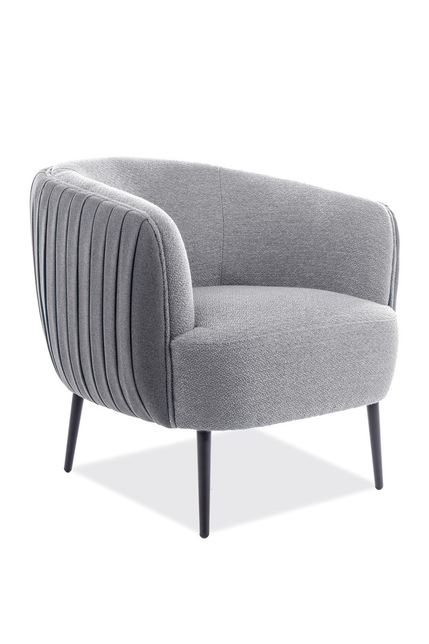 Кресло Signal Lenox 1 Серый (LENOX1SZCZ)