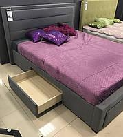 Двуспальная кровать Signal Ines 160X200 Серый (INES160SZ)