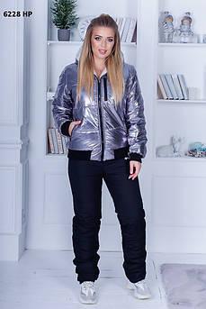 Стильний жіночий теплий костюм 6228 НР