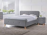 Двуспальная кровать Signal Malmo 180X200 см Серый (MALMO180SZD)