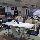 Стіл обідній MORANO 160(200)х90 Білий (MORANOB160)