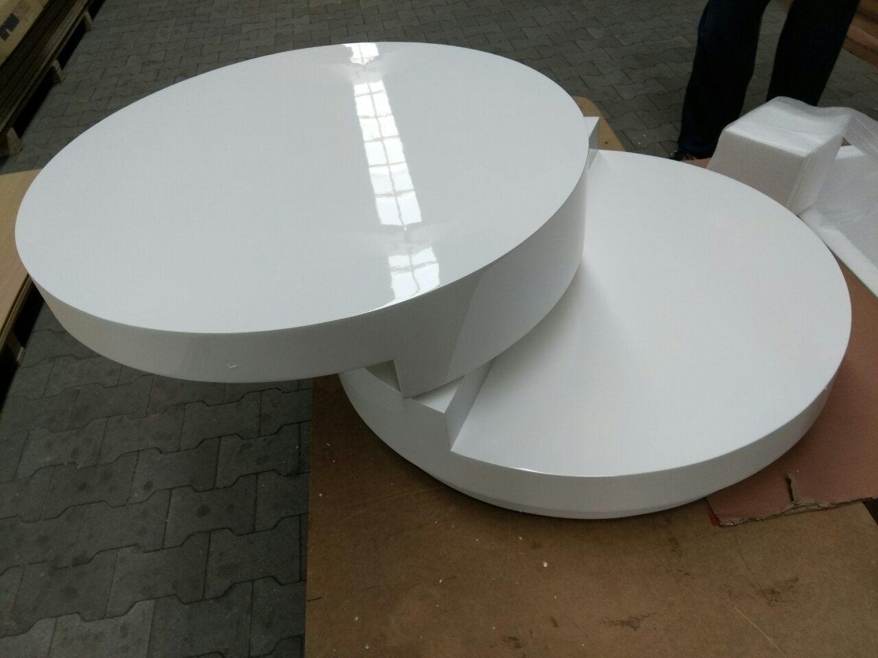 Стол журнальный Signal FABIOLA 80х80 Белый (FABIOLA)