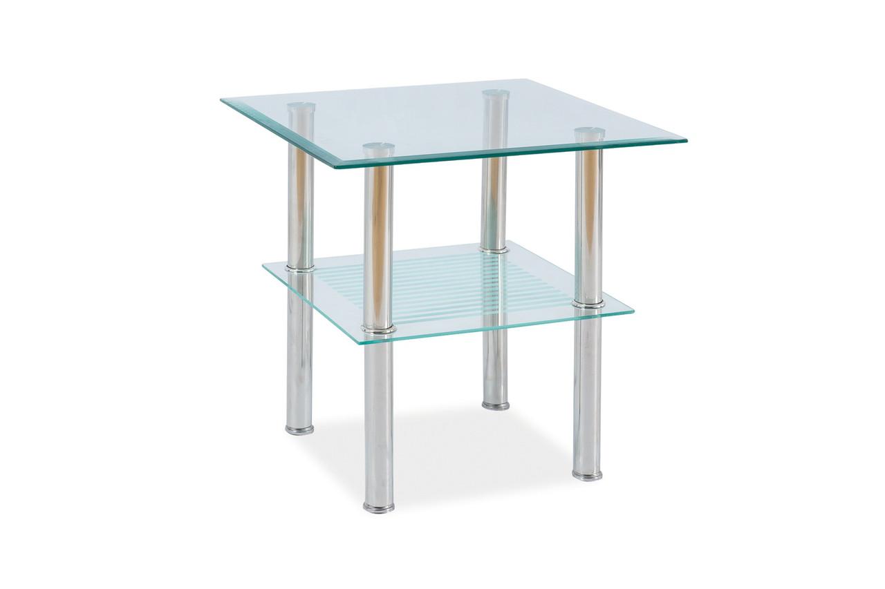 Журнальный стол Signal Мебель Pixel C Прозрачный (PIXEL2TCH50)