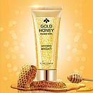 Уцінка! Пінка для вмивання Cahnsai Gold Honey з екстрактом меду і колоїдного золота 100 g (пом'ята коробка), фото 2