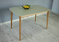 Стол обеденный Intarsio Exen 120х80 см Серый
