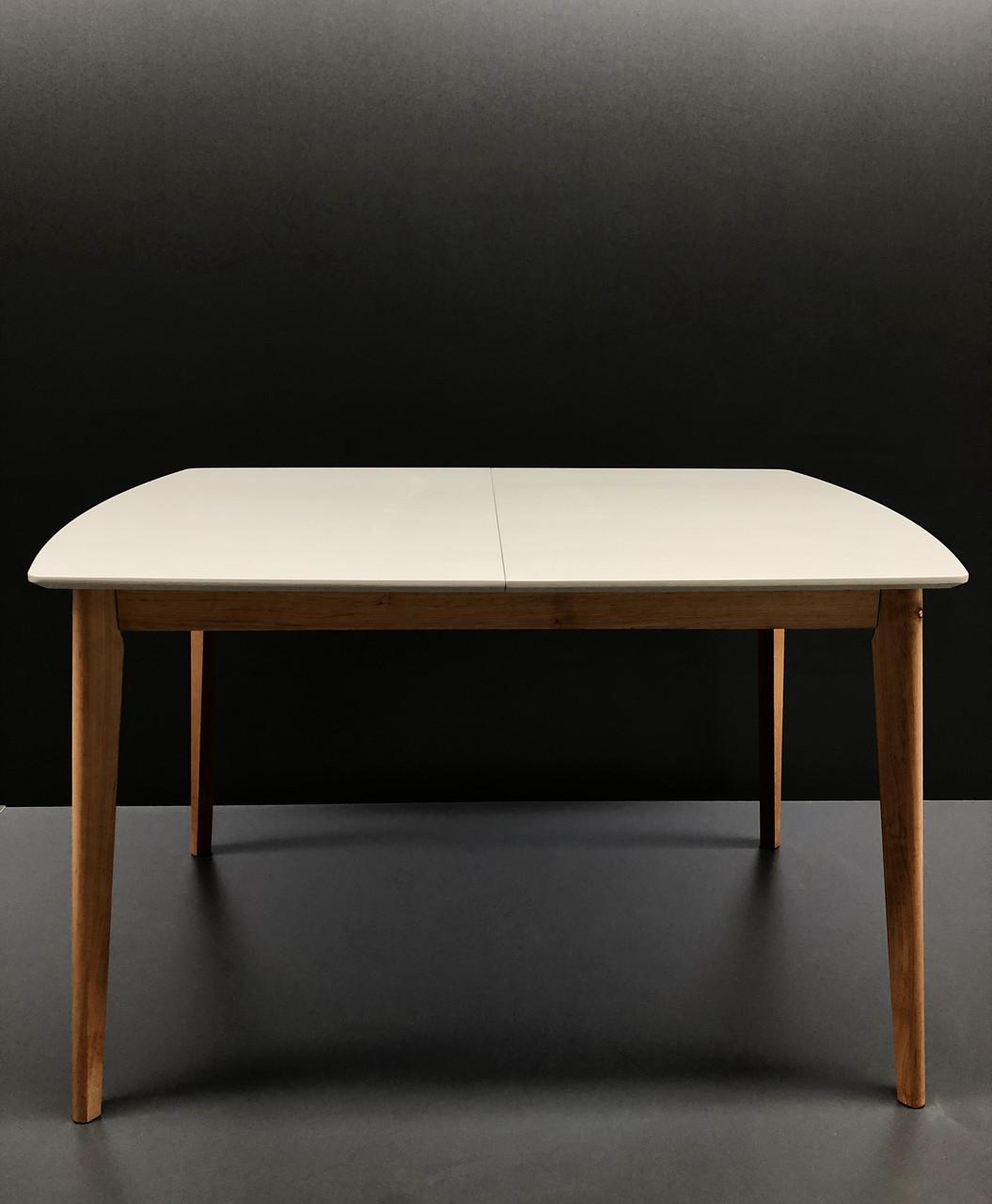 Стол обеденный Intarsio Exen II 120(160)х80 см Серый