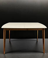 Стол обеденный Intarsio Exen II 120(160)х80 см Серый, фото 1