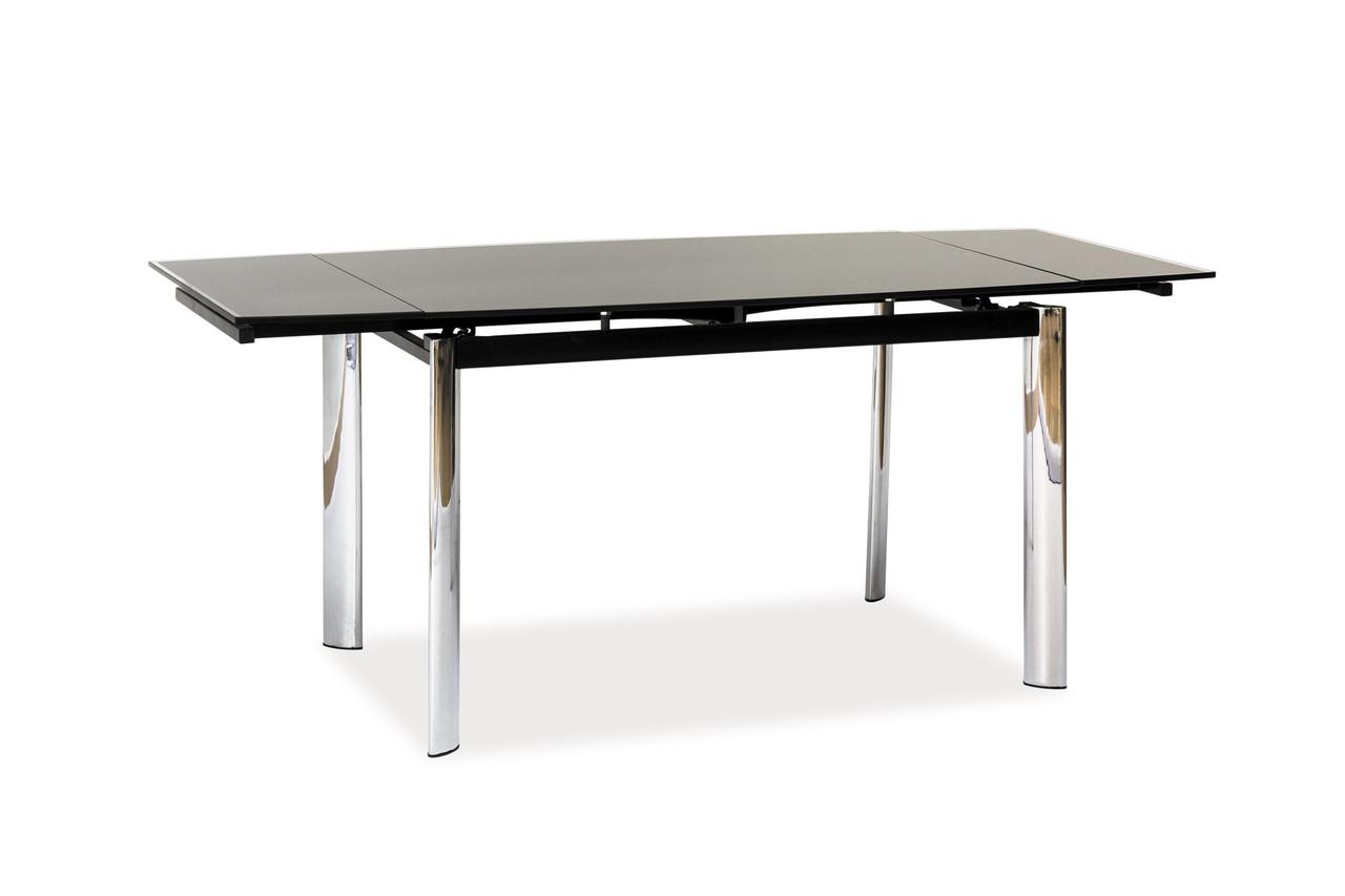 Стол обеденный Signal GD-020 120(180)х80 см Черный (GD020CZ)