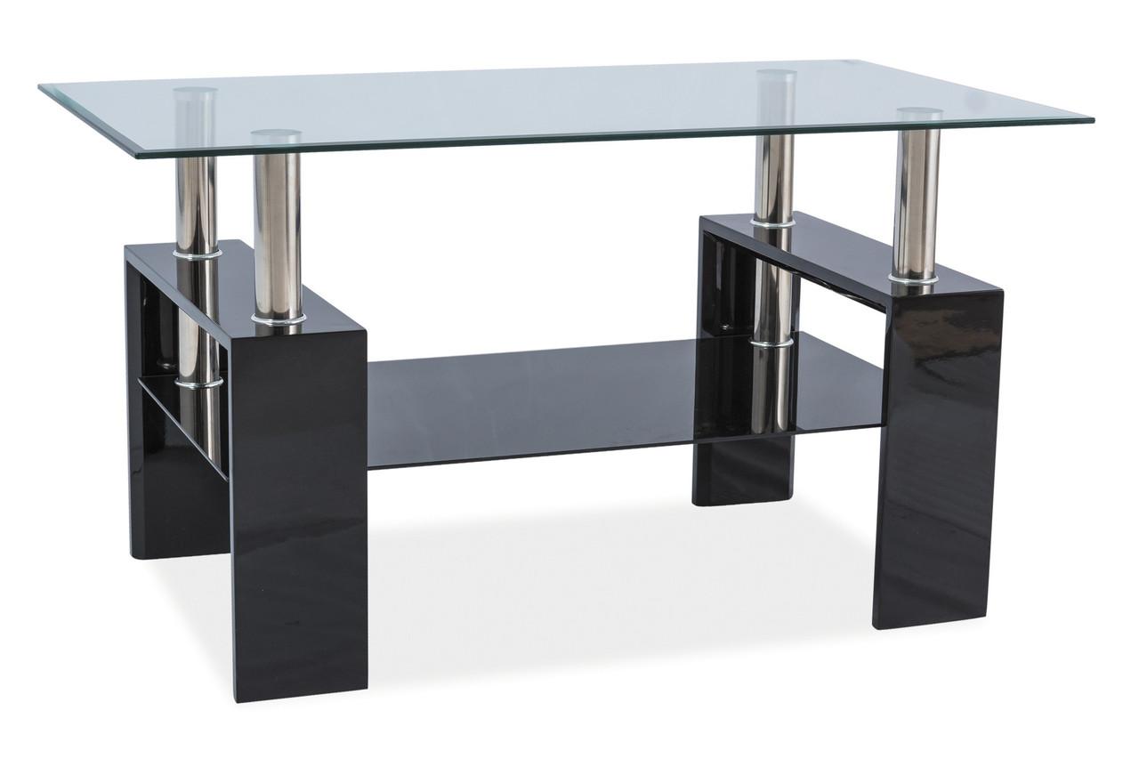 Журнальний стіл Меблі Signal Lisa III Чорний (LISA3TCC)