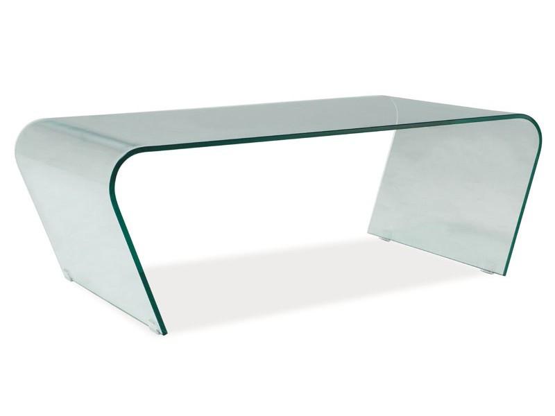 Журнальный стол Signal Мебель Tesla Прозрачный (TESLAT)