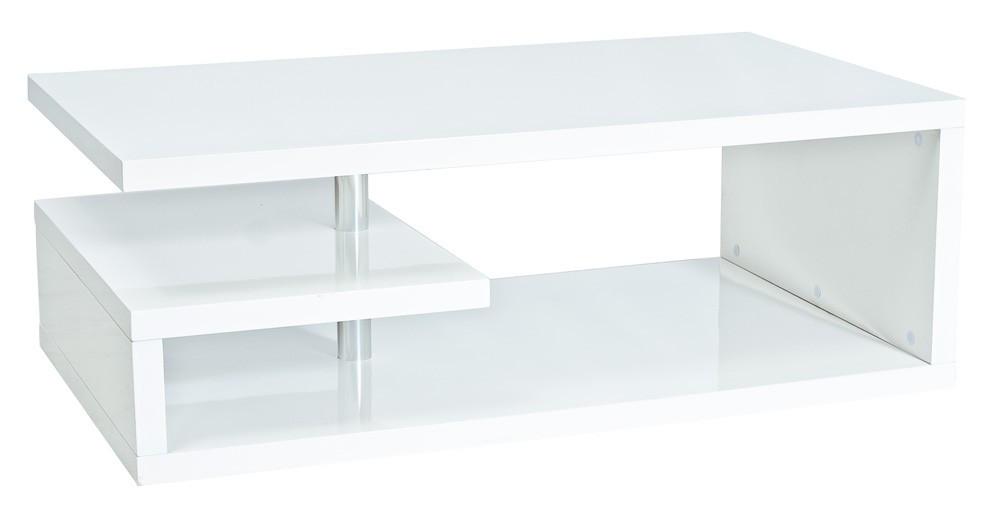 Журнальний стіл Меблі Signal Tierra 100x60 Білий (TIERRAB100)