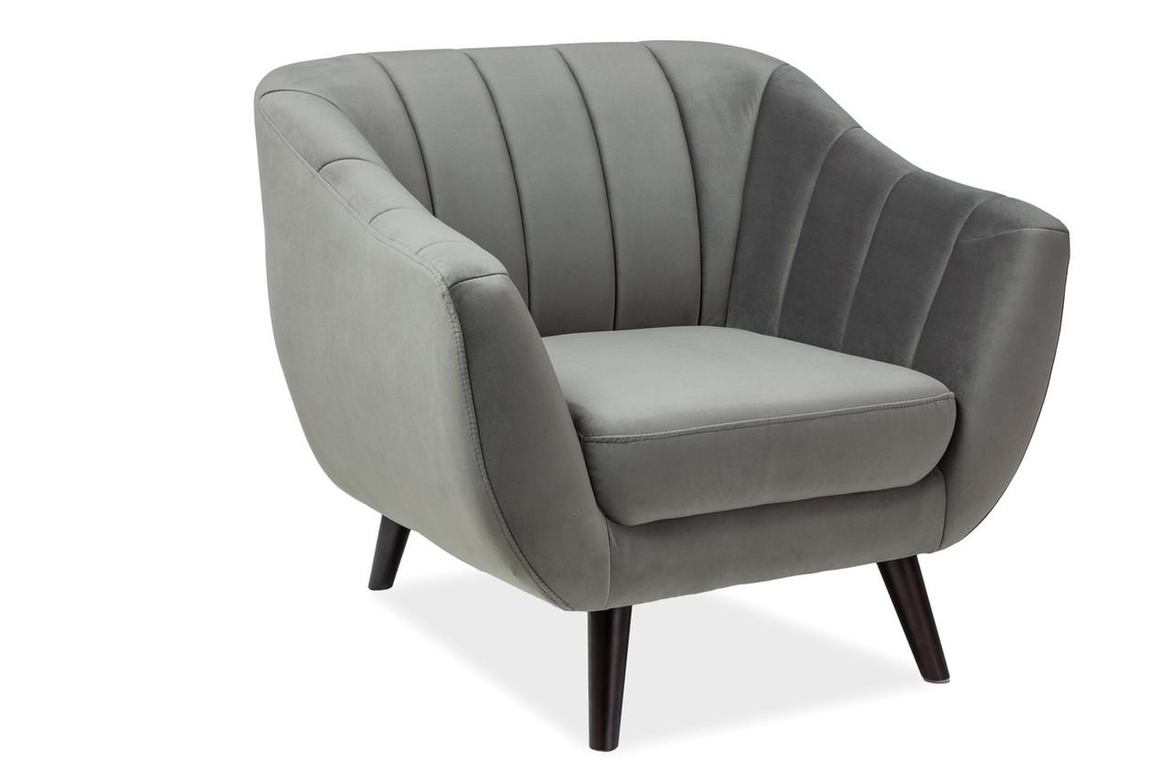 Крісло Signal Elite Velvet 1 Сірий (ELITE1V14SZ)