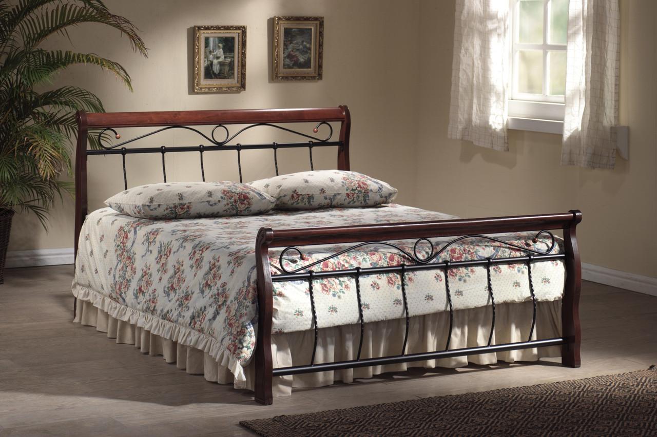 Двуспальная кровать Signal Venecja 180X200 Черешня античная (VENECJA4C)
