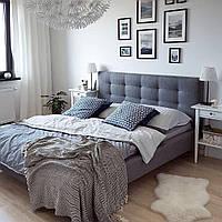 Кровать двуспальная Signal TEXAS 160х200 Серый (TEXAS160SZ)