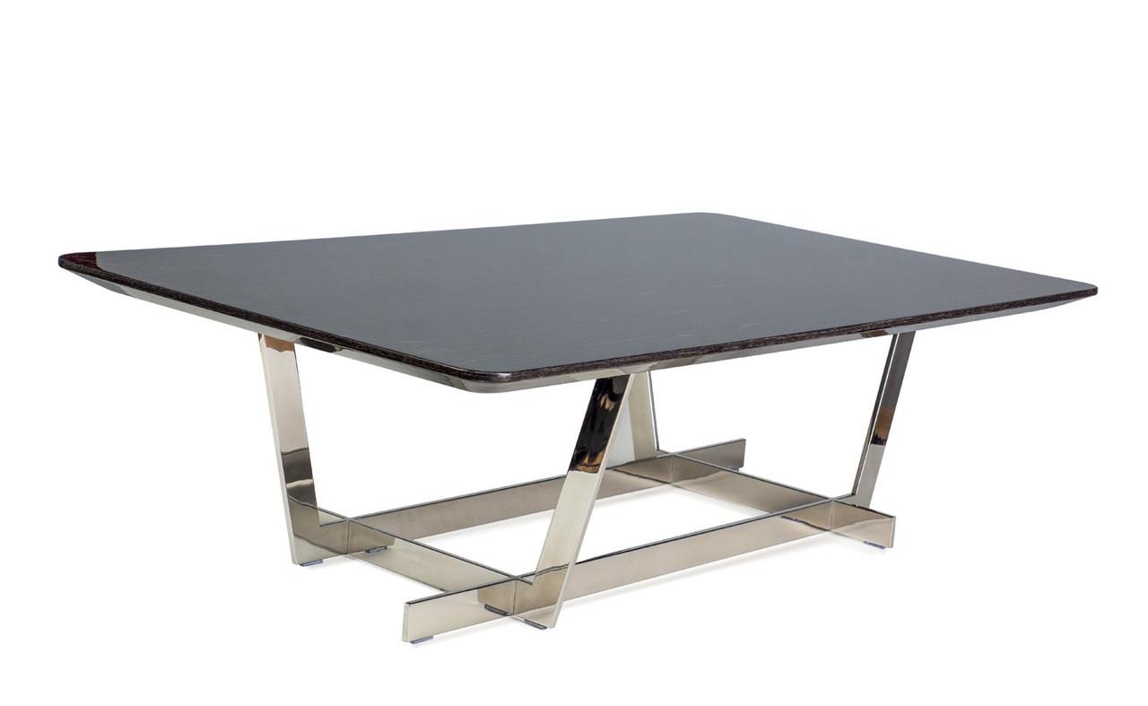 Журнальный стол Signal Sotterra 80х140 см Серебристый (SOTTERRA)