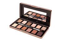 Палетка теней Nude Rose - 12 Color Eyeshadow Palette BH Cosmetics Оригинал