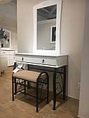 Стол туалетный со стульчиком Signal 1102 Белый (1102BB)
