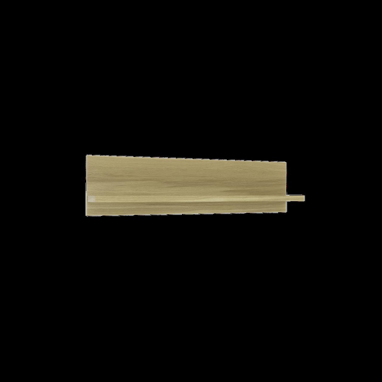 Fusion G поличка навісна 1402х350 мм дуб скельний + слонова кістка