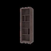 Virgo C книжкова полиця 560х1900 мм дуб ансберг темний + ультра білий металік