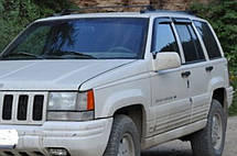 Ветровики Джип Гранд Чероки   Дефлекторы оконJeep Grand Cherokee I (SJ) 1991-1999