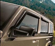 Дефлекторы окон Jeep Commander 2006-2010   Ветровики Джип Командер