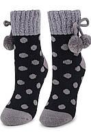 Теплые носки с антискользящей стопой MARILYN COOZY N65 ABS 36-40 Серый