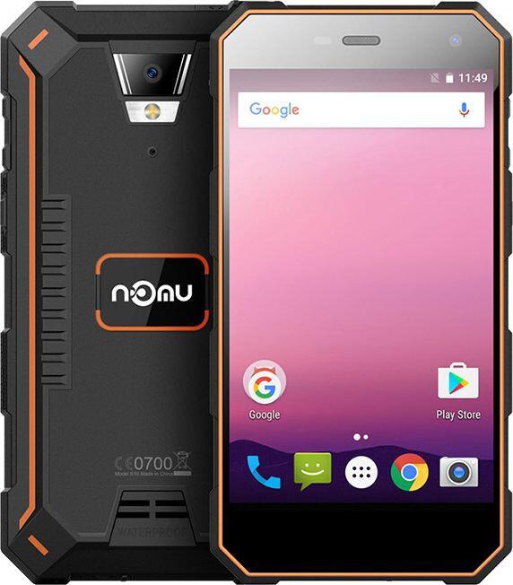 Защищенный телефон NOMU S10 Pro orange противоударный водонепроницаемый смартфон
