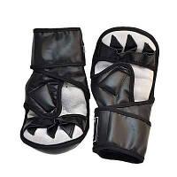 Перчатки Ever MMA, DX415, S,M,L,XL, черный