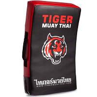 Макивара Изогнутая (1шт) кожаная MAUY THAI TIGER 45-0677 (поддержка для рук, р-р 64см, цвета в ассортименте)